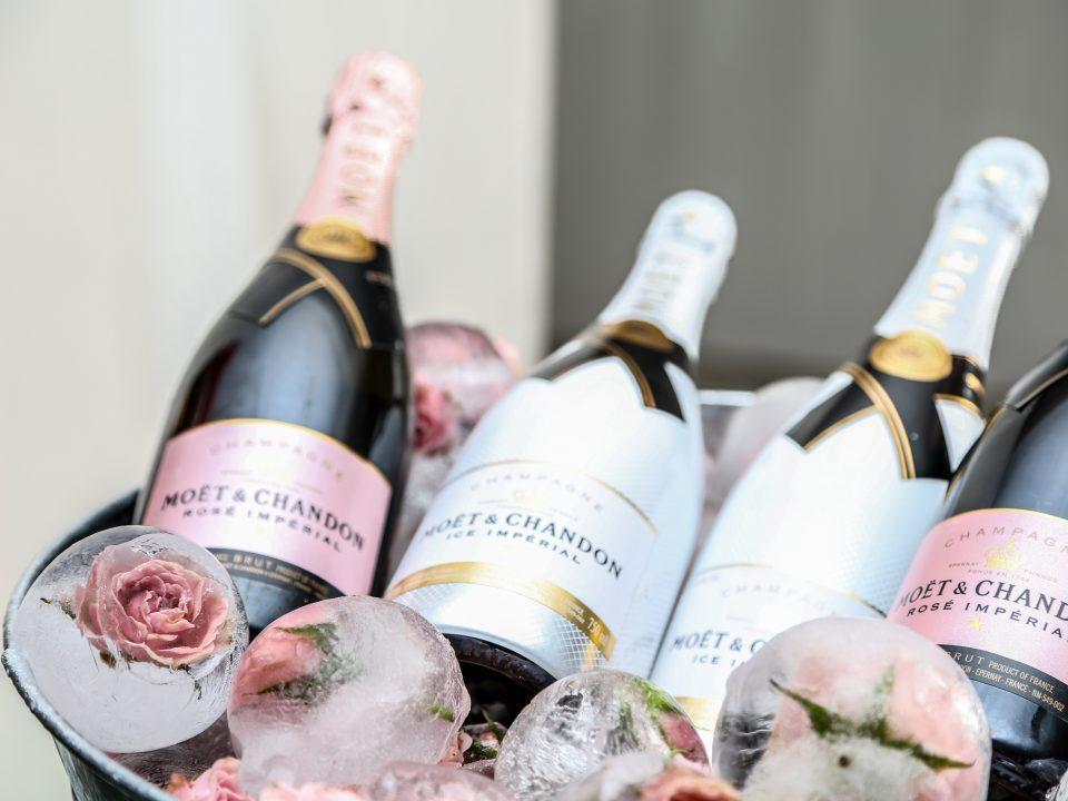 champagne per le nozze